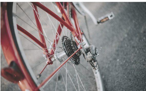la bicicleta vermella